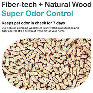 Cature Natural Wood Clumping Cat Litter Tiny Pellets 6L - Dogs And The City Online