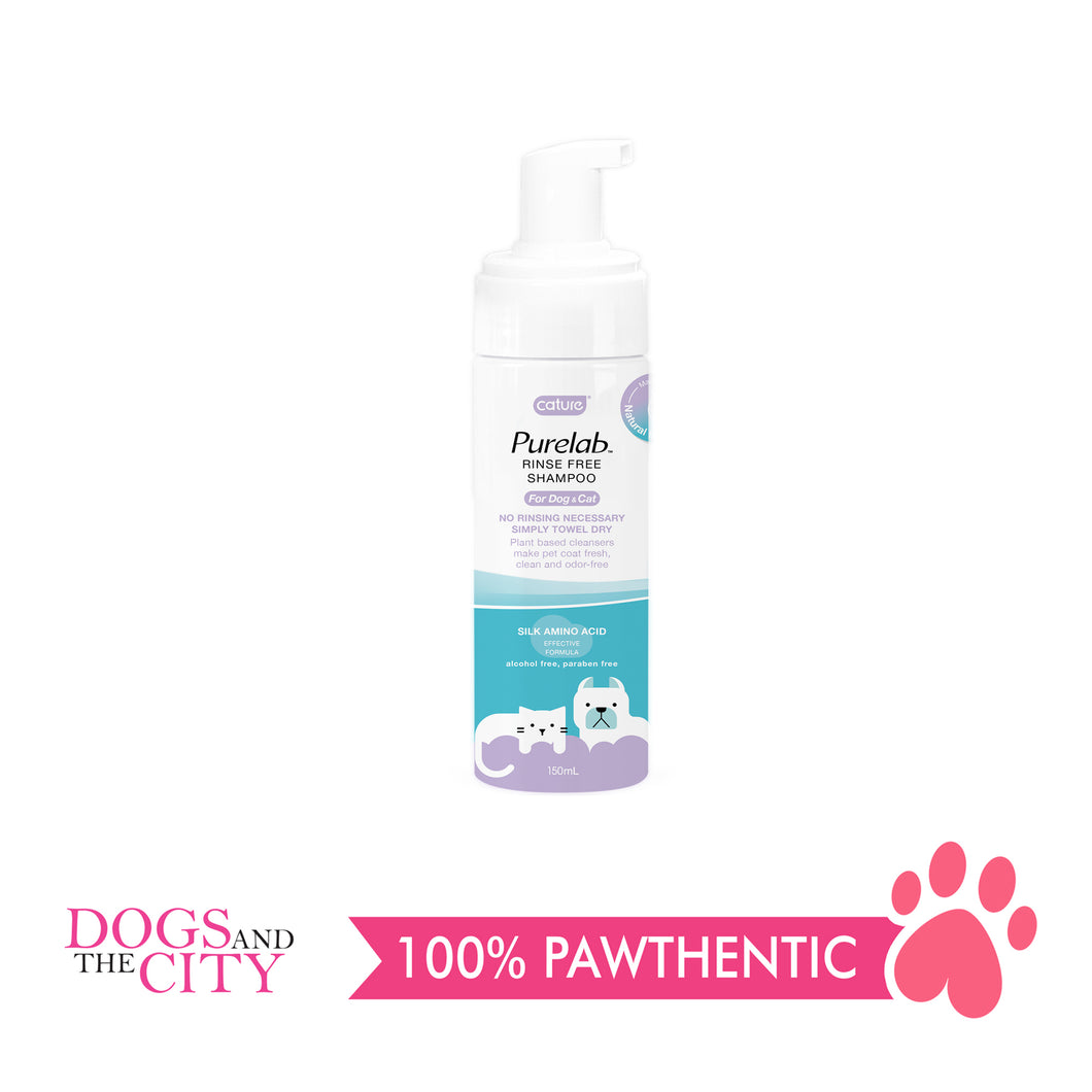 Cature Rinse Free Shampoo 150ml - All Goodies for Your Pet