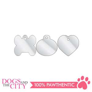 Personalized Pet Tags Circle Shape Large 32x32mm - All Goodies for Your Pet