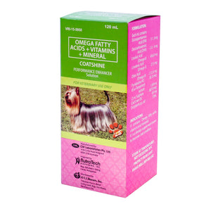 Coatshine Performance Enhancer Multivitamins 120ml - All Goodies for Your Pet