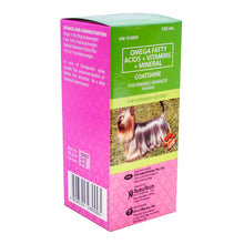 Load image into Gallery viewer, Coatshine Performance Enhancer Multivitamins 120ml - All Goodies for Your Pet