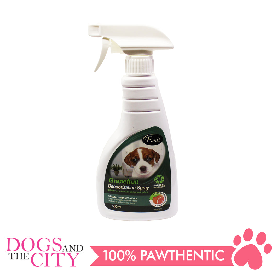 Endi Grapefruit Deodorizer Spray 500ml - All Goodies for Your Pet