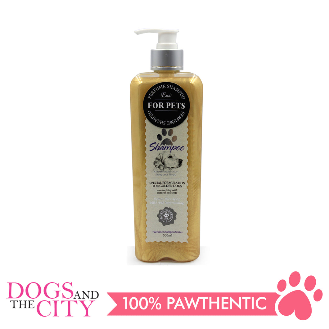 Endi E043 Organic Golden Color Pet Shampoo 500 ml