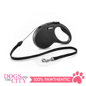 Flexi Retractable Dog Leash Classic Cord Small up to 12kg