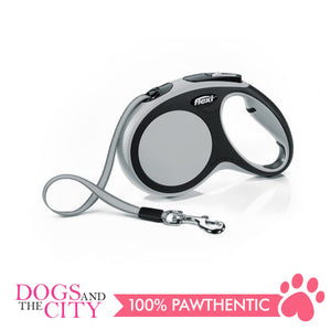 Flexi Retractable Dog Leash New Comfort Tape Medium up to 25kg