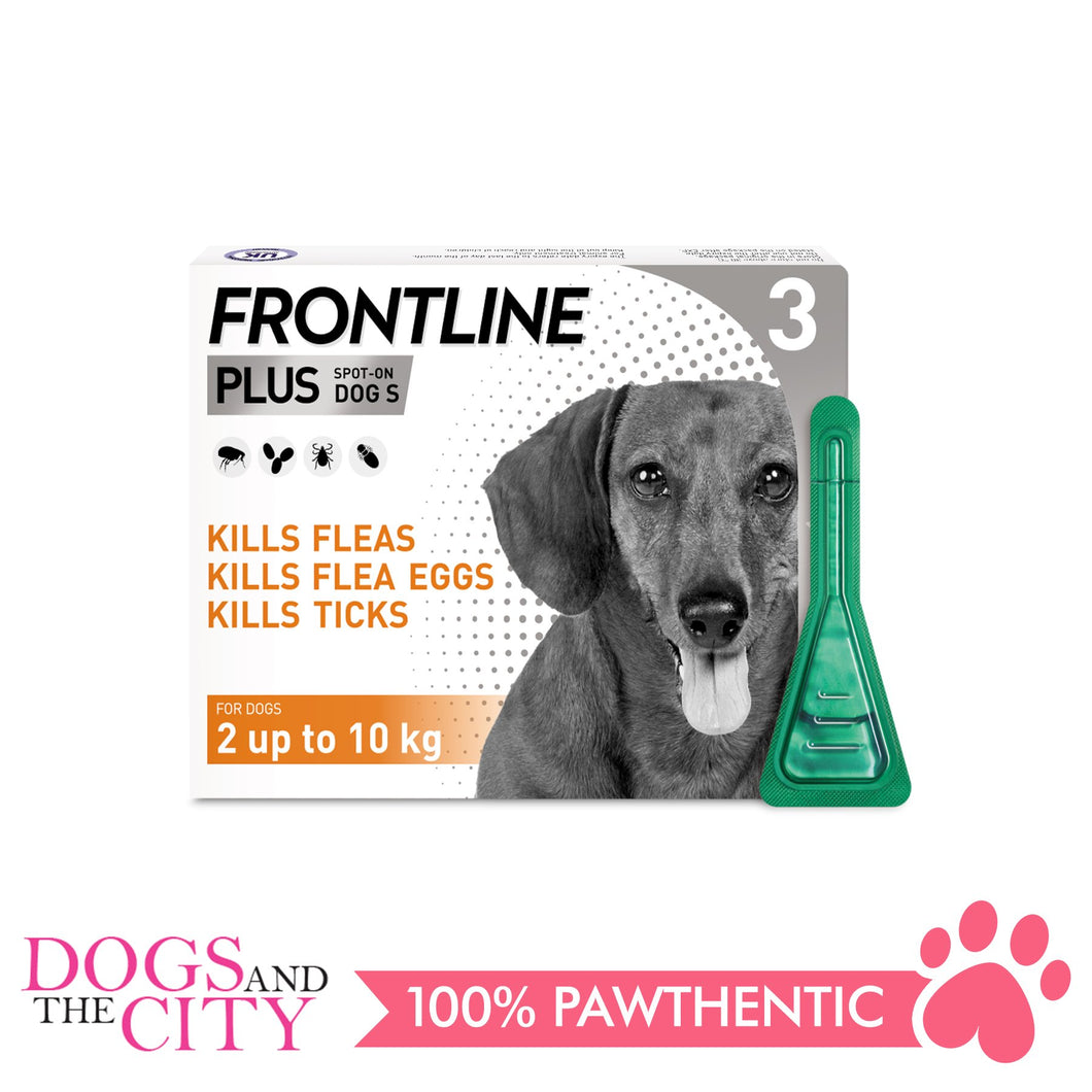 Frontline Plus Flea & Tick Spot On for Dogs 0-10 kgs - All Goodies for Your Pet