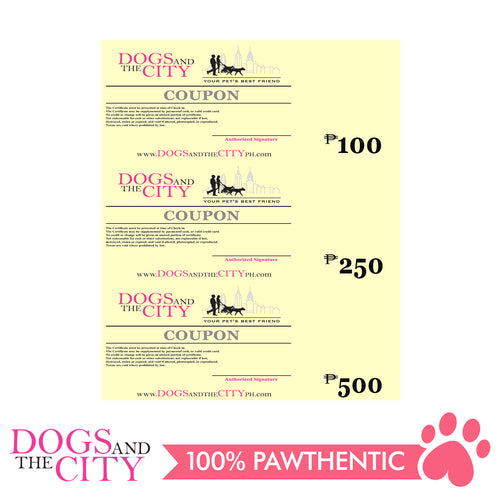 Dogs and The City Gift Certificate