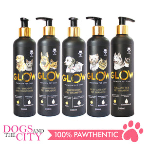 Glow D005 Silky and Soft Pet Shampoo for Dog And Cat 300ml