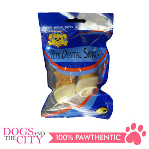 Pets Dental Snack GPP091915 10CM Bone with Chicken 90g - All Goodies for Your Pet