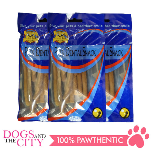 Pets Dental Snack GPP091920 Soft Stick Chicken 11cm 80g (3packs) - All Goodies for Your Pet