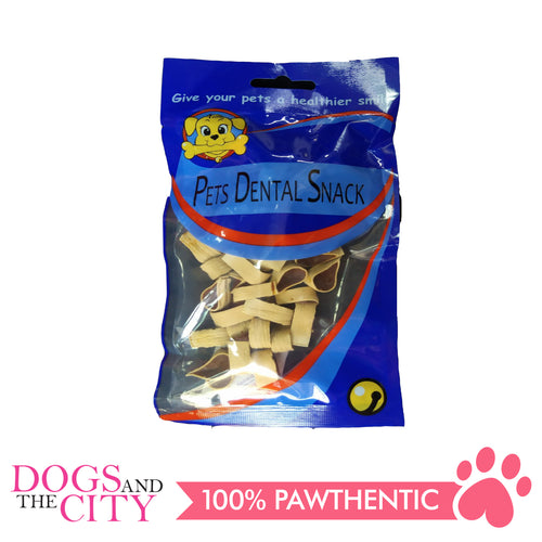 Pets Dental Snack GPP091925 Milk and Beef 2cm 80G - All Goodies for Your Pet