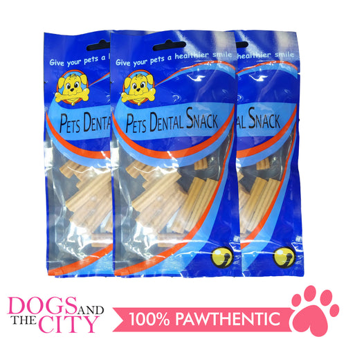 Pets Dental Snack GPP091929 Chicken 5cm 65g (3packs) - All Goodies for Your Pet
