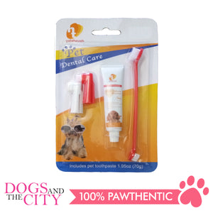JX Pet Dental Care 4 in 1 Kit 70g - All Goodies for Your Pet