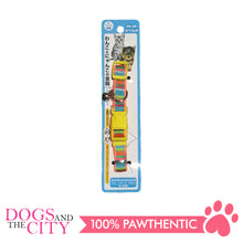 Load image into Gallery viewer, JX 1.5 cm Colorful Stripes Collar for Dogs