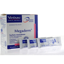 Load image into Gallery viewer, Virbac Megaderm 4ml/8ml 28pcs per box for Dogs and Cats - All Goodies for Your Pet