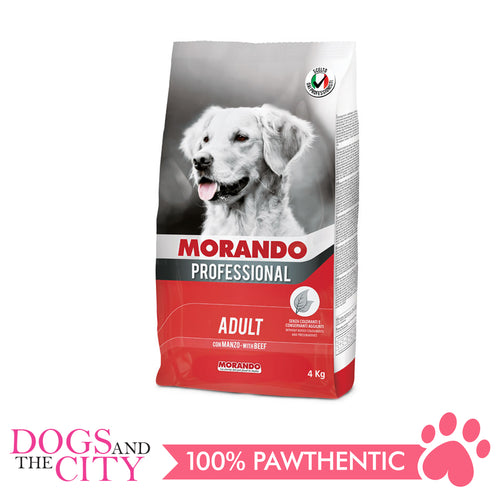 Morando Proffesional Adult Beef Dog Food 4Kg