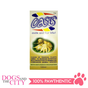 Oasis Syrup Milk Aid For Life 120mL - All Goodies for Your Pet