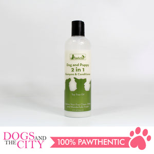Pawfection 2in1 Dog and Puppy Shampoo and Conditioner Tea Tree Oil 500ml - All Goodies for Your Pet