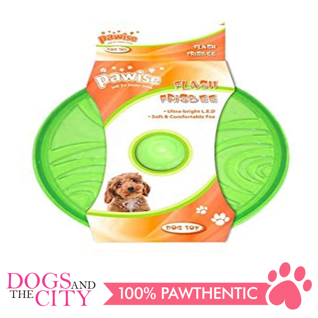 Pawise 14553 Flash Frisbee Dog Toy 20cm