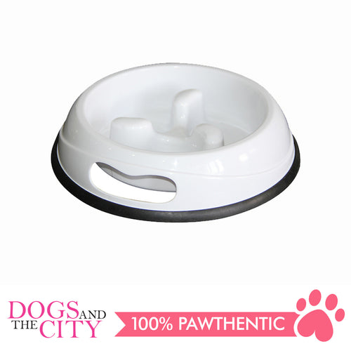 Pawise 11025 Slow Feeding Dog Bowl 1000ml - All Goodies for Your Pet