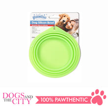 Load image into Gallery viewer, Pawise 11030 Collapsible Silicon Food & Water Travel Bowl for Dog and Cat 2000ml - All Goodies for Your Pet