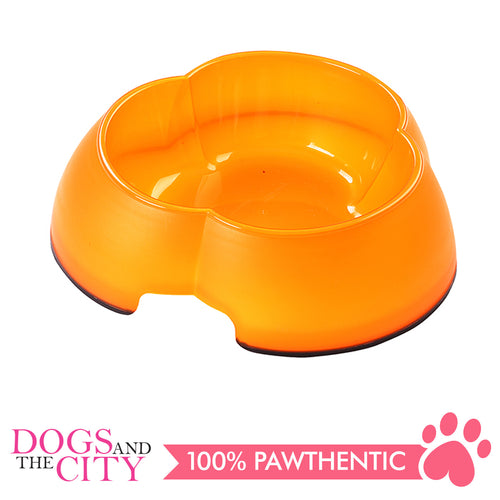 Pawise 11041 Flower Dog Bowl 300ml 15.5x15.5x4cm - All Goodies for Your Pet