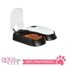 Load image into Gallery viewer, Pawise 11082 Pet Automatic Feeder Double 27x7x24cm - All Goodies for Your Pet