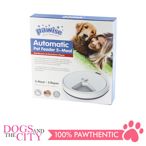 Pawise 11085 Automatic Pet Feeder 37x33x6cm - All Goodies for Your Pet