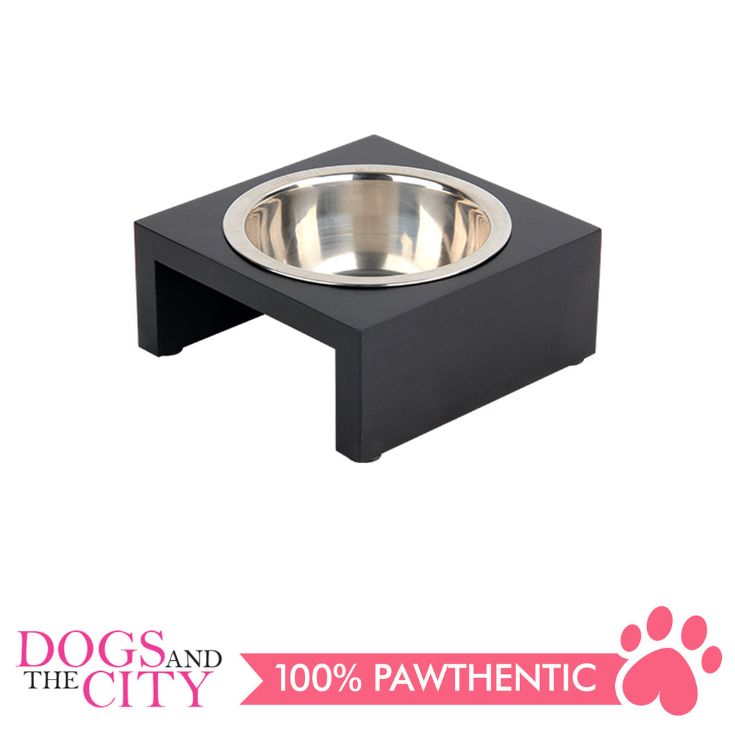 Pawise 11121 Deluxe Pet Dinner Bowl 200ml 13x13x5.5cm - All Goodies for Your Pet