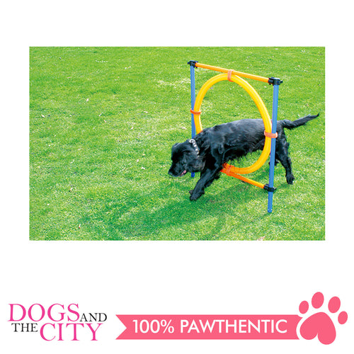Pawise 11433 Pet Dogs Outdoor Games Agility Ring - All Goodies for Your Pet