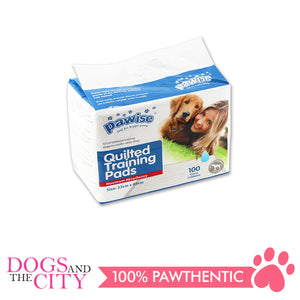 Pawise 11440 Pet Quilted Pee pads 33*45 100pcs/bag - All Goodies for Your Pet