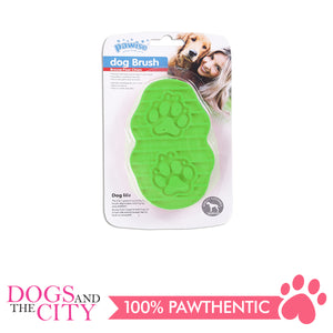 Pawise 11469 Dog Grooming Rubber Brush 13cm - All Goodies for Your Pet