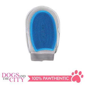 Pawise 11493 2 in 1 Pet Grooming Gloves 26x14x2.5cm - All Goodies for Your Pet