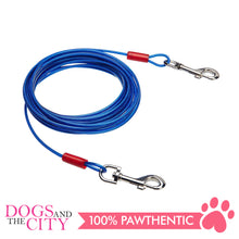 Load image into Gallery viewer, Pawise 11511 Tie Out Cable for Dogs 15ft up to 60lbs