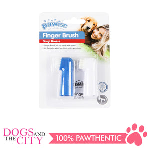 Pawise 11552 Finger Toothbrush 2 pieces - All Goodies for Your Pet