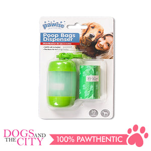 Pawise 11592 Dog Poop Bag Dispenser - Dogs And The City Online
