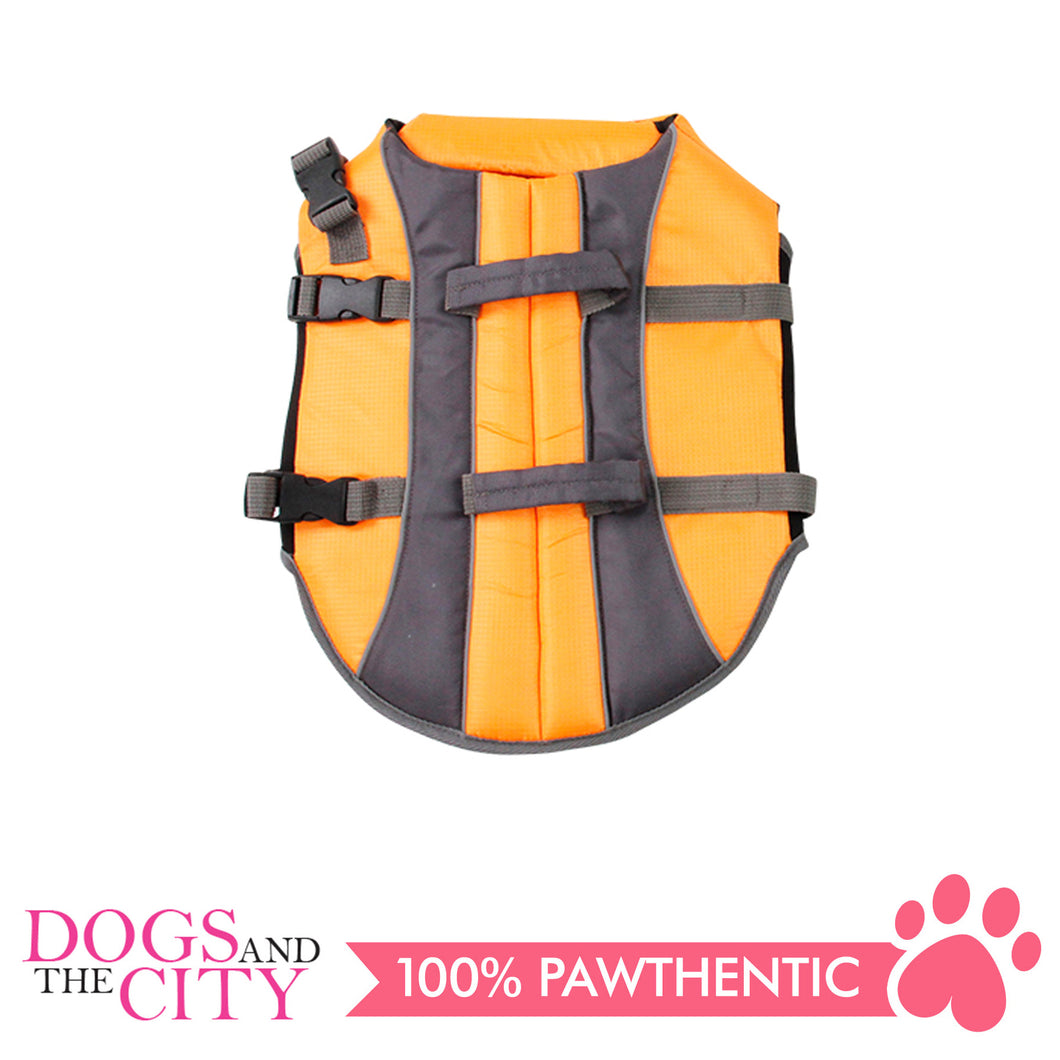 Pawise 12022 Dog Life Jacket Small - Orange - All Goodies for Your Pet