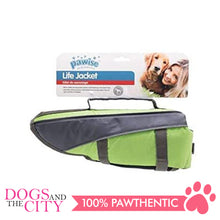 Load image into Gallery viewer, Pawise 12030 Dog Life Jacket Large Green