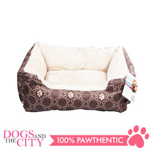 Load image into Gallery viewer, Pawise 12321 Square Dog Bed Coffee19 inches 48.3x40.6x15.2cm - All Goodies for Your Pet