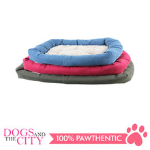 Load image into Gallery viewer, Pawise 12347 Dog Bed w/Remove Pillow Large Green 78.7x48.3x10.2cm - All Goodies for Your Pet