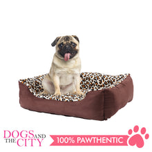 Load image into Gallery viewer, Pawise 12367 Deluxe Square Dog Bed Medium 63.5x48x20cm