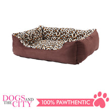 Load image into Gallery viewer, Pawise 12366 Deluxe Square Dog Bed Small 48x38x17.5cm - All Goodies for Your Pet