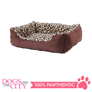 Pawise 12366 Deluxe Square Dog Bed Small 48x38x17.5cm - All Goodies for Your Pet
