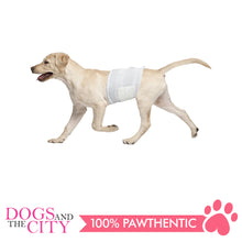 Load image into Gallery viewer, Pawise 12977 Dog Disposible Male Wraps 12pcs Medium for 15-45 lbs - All Goodies for Your Pet