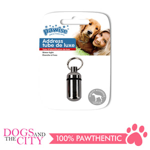 Pawise 13001 Pet Address tube 12x8x2cm - All Goodies for Your Pet