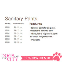 Load image into Gallery viewer, Pawise 13032 Dog Sanitary Pants Size 2