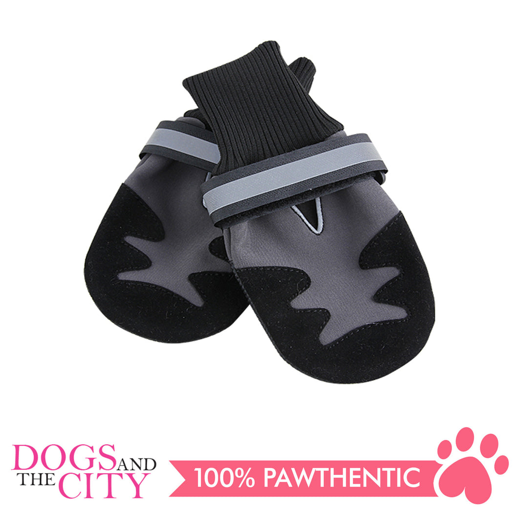 Pawise 13044 Doggy Boots 2 Pieces Large - All Goodies for Your Pet