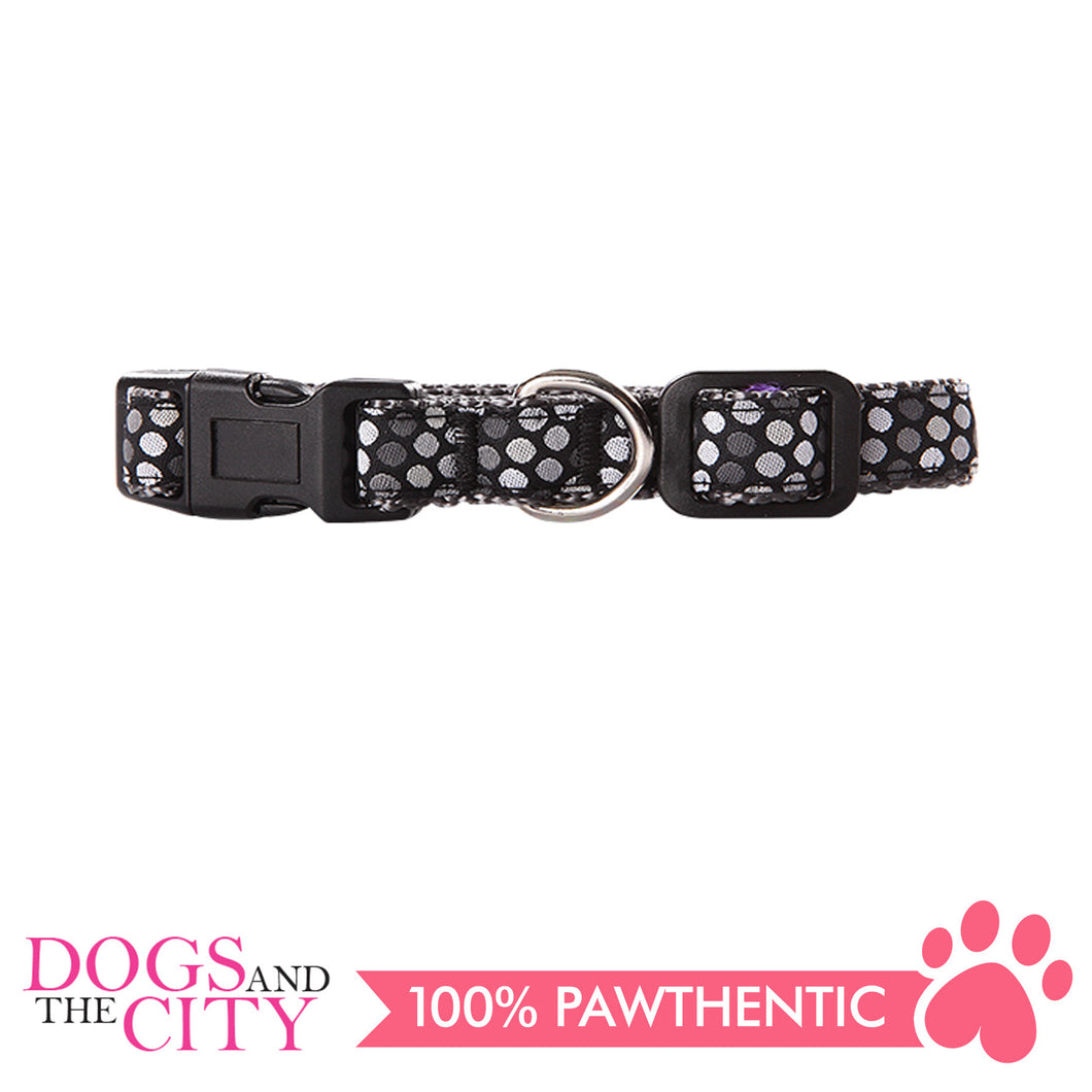Pawise 13202 Dog Collar-Black Small (22-35CM/15MM) - All Goodies for Your Pet