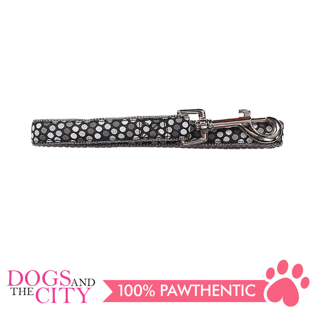 Pawise 13206 Dog Leash-Black Small (1.2M/15MM) - All Goodies for Your Pet