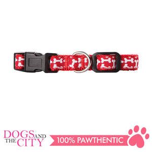 Pawise 13222 Dog Collar-Red Small (22-35CM/15MM) - All Goodies for Your Pet